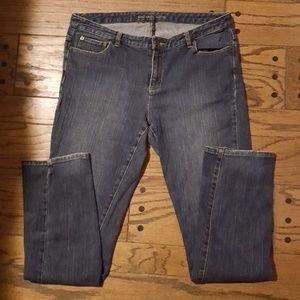 Michael Kors Women's Straight Leg Jeans